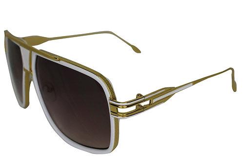 The Millionaire White Streetwear High Fashion Sunglasses Shades Eyewear
