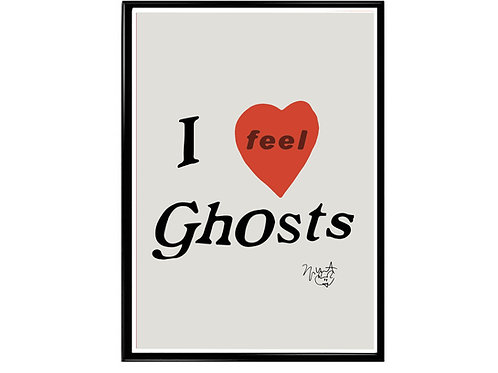 Kanye West I Feel Ghost Poster, Hypebeast Poster, Kicks Pos