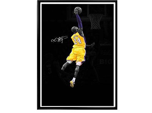 Kobe Bryant Signature Poster, Hypebeast Poster, Kicks Poster, Sports Fan Art
