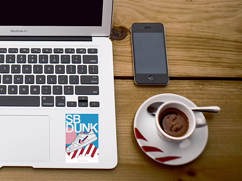 SB Dunk Parra Sneaker Sticker, Hypebeast Stickers, Sneaker De