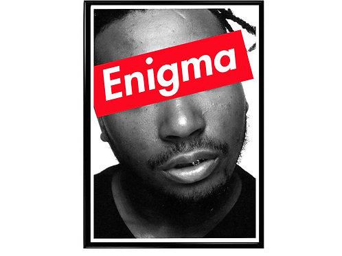 Ol Dirty Bastard Enigma Box Logo Poster, Hypebeast Poster, Street Art Poster