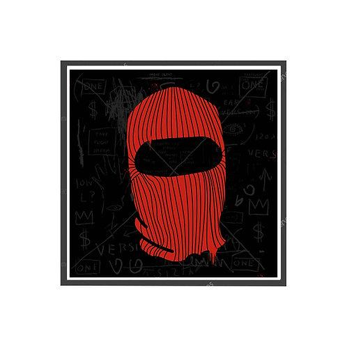 Mask On Poster, Hypebeast Poster, Graffiti Street Art Poster