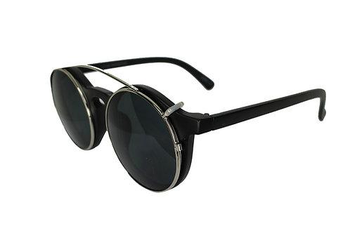 The Outlander Round Lens Streetwear High Fashion Sunglasses Shades Eyewear