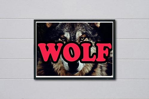 Tyler The Creator Wolf Poster, Music Posters Hypebeast Art, Trendy Art Wall Art