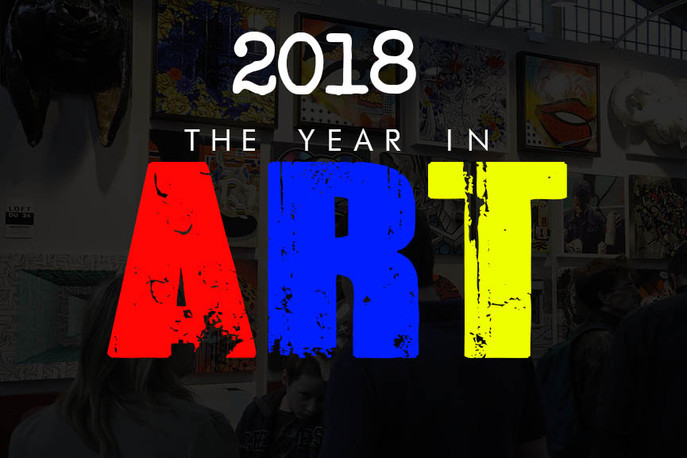 2018 The Year In Art. A Year Of Innovation