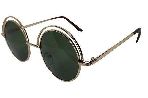 The Winston Round Lens Streetwear High Fashion Sunglasses Shades Eyewear