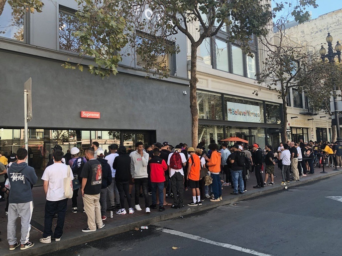 "Supreme, Supreme"", - The New San Francisco Store"