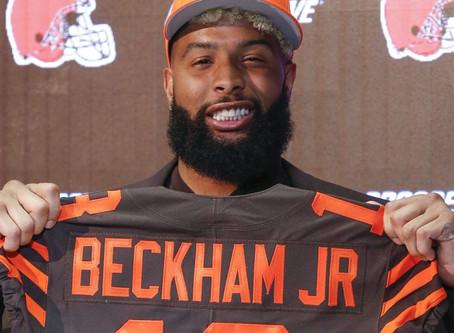"Odell Beckham Jr. Cleveland Browns ""Building the Browns"""