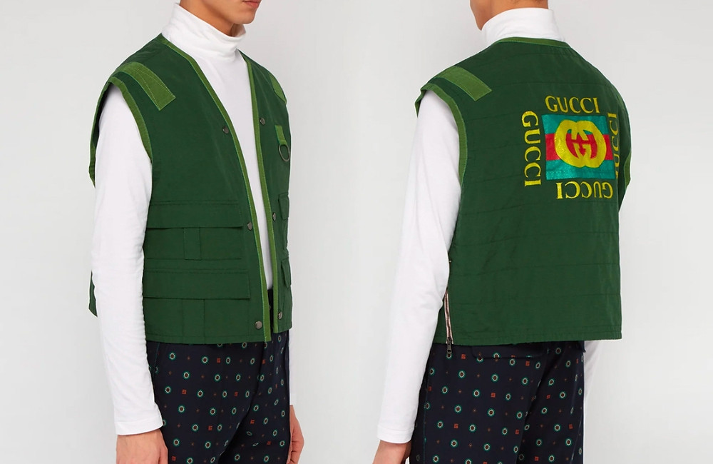 Gucci Releases Designer Fishing Vest