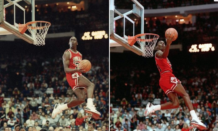 Michael Jordan Retro Dunk Contest