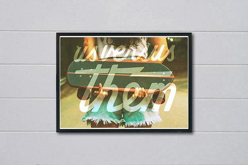 Us Versus Them Inspired Poster, Wall Art Poster, Hypebeast Poster, Street Art