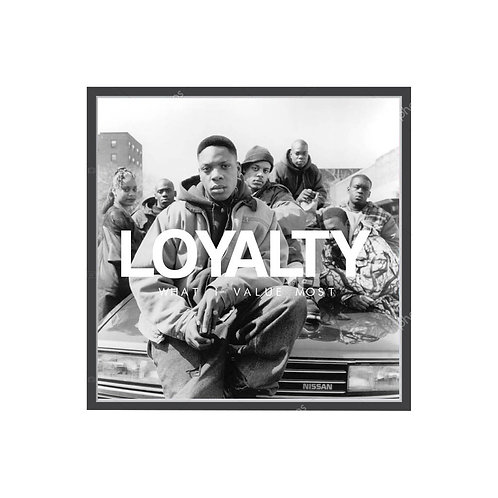 New Jersey Drive Loyalty Poster, Hypebeast Poster Classic Hood Movie Poster