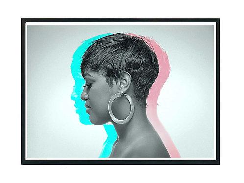 Rapsody 3D Art Music Hip Hop Poster