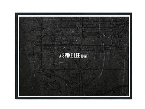 A Spike Lee Joint Poster, Hypebeast Poster, Movie Poster
