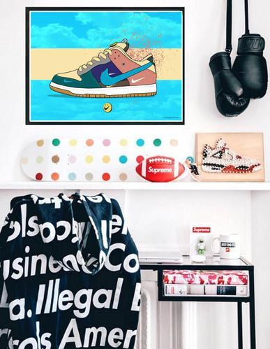 c2d124ef2d4fb Pop Culture Wall Art - Graffiti Posters
