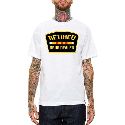 Retired Drug Dealer Jay Z White Streetwear T Shirt