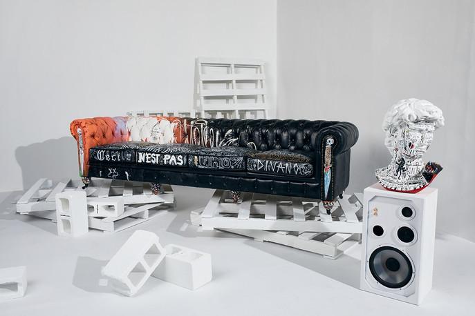 """Stikki Peaches"" X CDI Furniture Home Collab Release"
