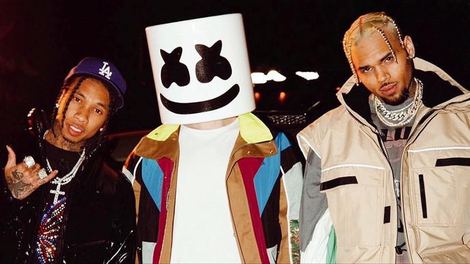 """Light it Up"" / Marshmello, Chris Brown, Tyga!! New Release"