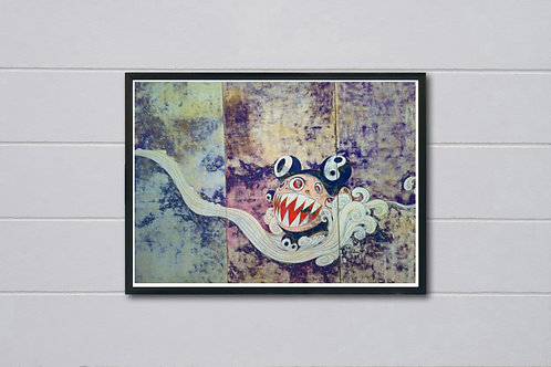Modern Wall Art Poster, Japanese Pop Culture Poster Art Hypebeast Print