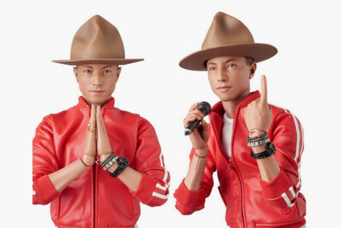 Medicom Partners with BBC Ice Cream To Produce a $320 Pharrell Williams Action Figure