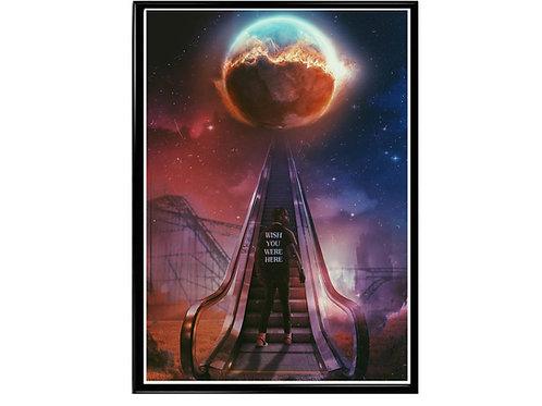 Travis Scott Space Escalator Poster, Hypebeast Poster, Music Hip Hop Poster