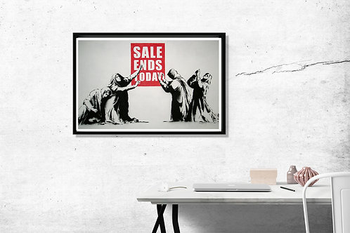 Banksy Sale Ends Today Art Poster Hypebeast Posters Prints Street Graffiti