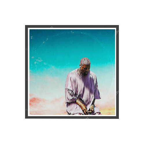Kanye West Sunday Service Oil Poster, Hypebeast Poster, Music Posters