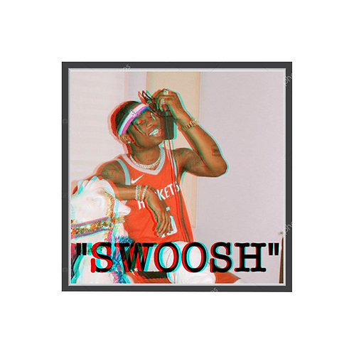 Travis Scott Swoosh Poster, Hypebeast Poster, Pop Culture Poster, Rap Wall Art