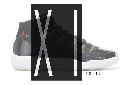 Air Jordan 11 72-10 Custom Jordan Sneaker Poster Art Print