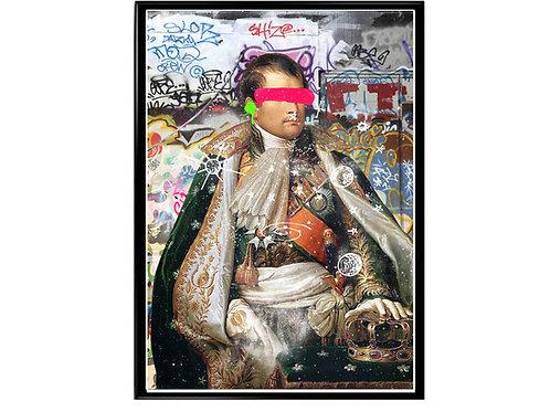 Art House Nepolian Graffiti Poster, Hypebeast Poster, Modern Pop Art, Street Art