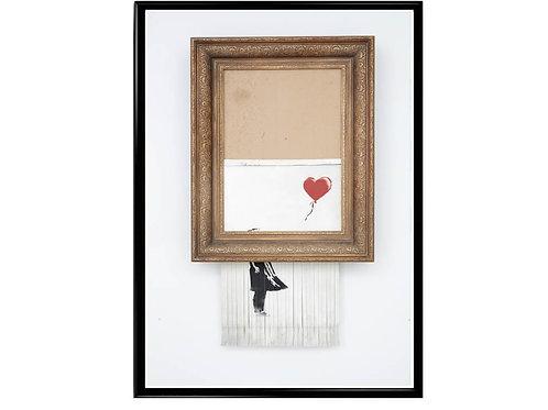 Banksy Love in the Bin Poster, Hypebeast Poster, Modern Pop Art Poster