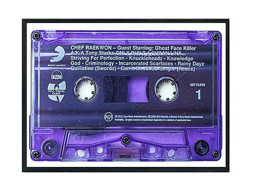 Rakwon Purple Tape Poster, Hypebeast Music Poster