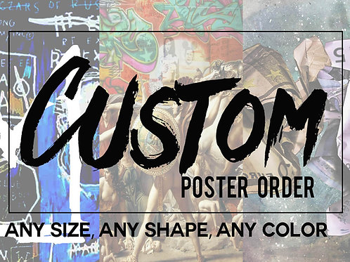 Custom Poster Printing, Family Photo Poster, Personalized Wall Art Print