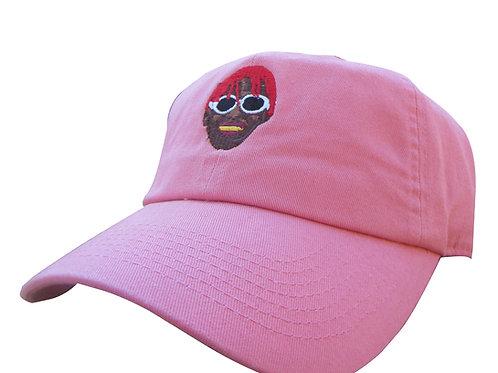 Lil Yachty Salmon Pink Emoji Meme Lil Uzi Vert Twill Cotton Dad Hat Cap