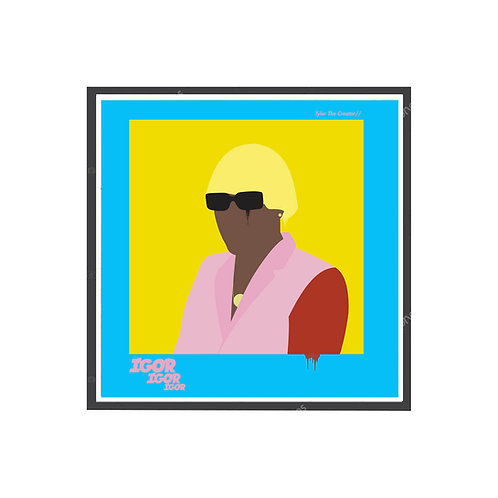 Tyler the Creator Igor Graffiti Poster, Hypebeast Poster, Rap Album Art