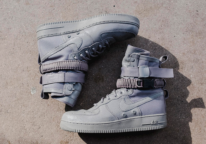 Nike's SF Air Force 1 All Gray Release Draws Closer