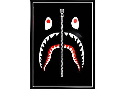 Bape Shark Poster, Hypebeast Poster, Modern Pop Art Poster, Street Art