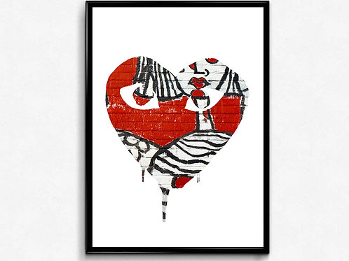 Comme des Garçons Inspired Poster Art Hypebeast Poster, Pop Culture Wall Art