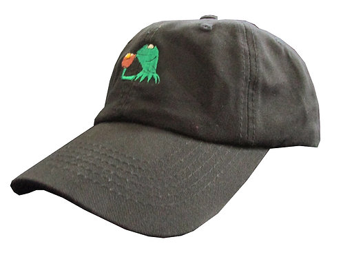 None of My Business Meme Unstructured Twill Cotton Dad Hat