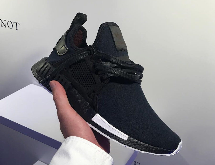 official photos e55b6 e0311 Size? x Henry Poole x Adidas Originals NMD XR1 and NMD R2 ...
