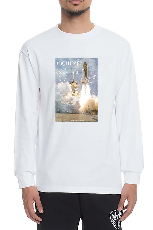 Highest In The Room LS T Shirt, Streetwear Hypebeast T Shirt