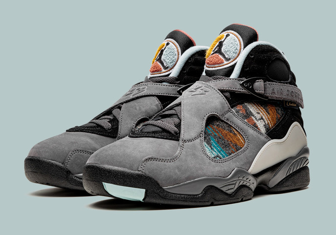 The Pendleton x Air Jordan 8: Sneaker Release