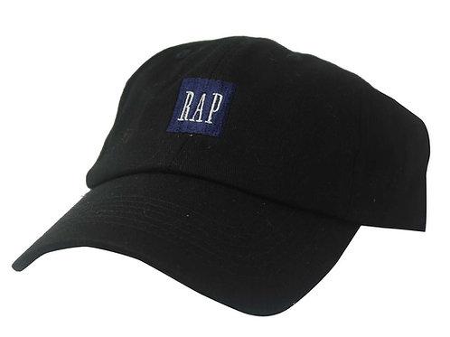 Rap Box Black Twill Cotton Popular Low Profile Dad Hat