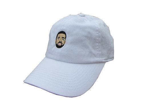 Crying Drake White Emoji Meme Unstructured Twill Cotton Low Profile Dad Hat