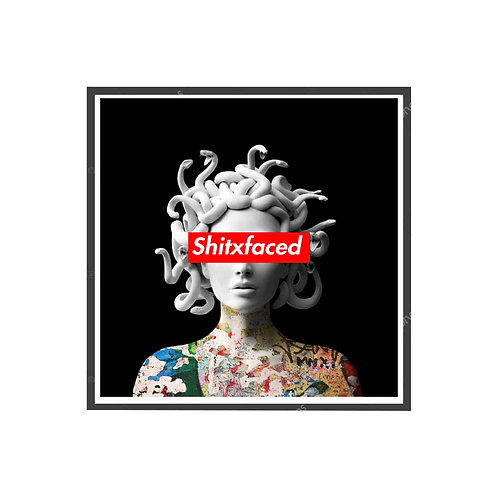 Graffiti Medusa Poster, Hypebeast Poster, Pop Culture Poster Art