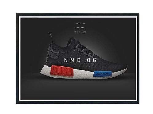 NMD OG Sneaker Poster, Hypebeast Poster, Modern Pop Art Poster, Street Art