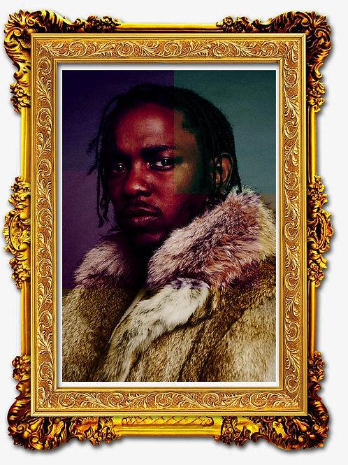 King Kenny Art Poster, Hypebeast Poster Print, Song Lyric Music Poster Art