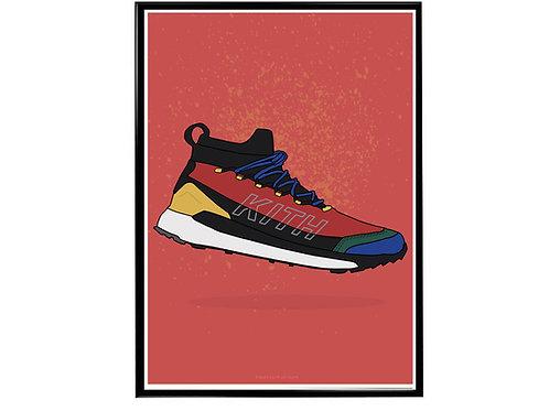 Kith Adidas Sneaker Poster, Hypebeast Poster, Kicks Pos