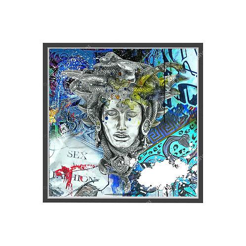 Art House Medusa Graffiti Poster, Hypebeast Poster, Pop Culture Poster