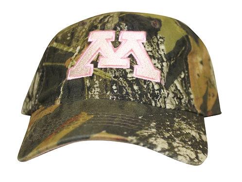 University of Minnesota Golden Gophers Woodland Camo Adjustable Dad Cap Hat